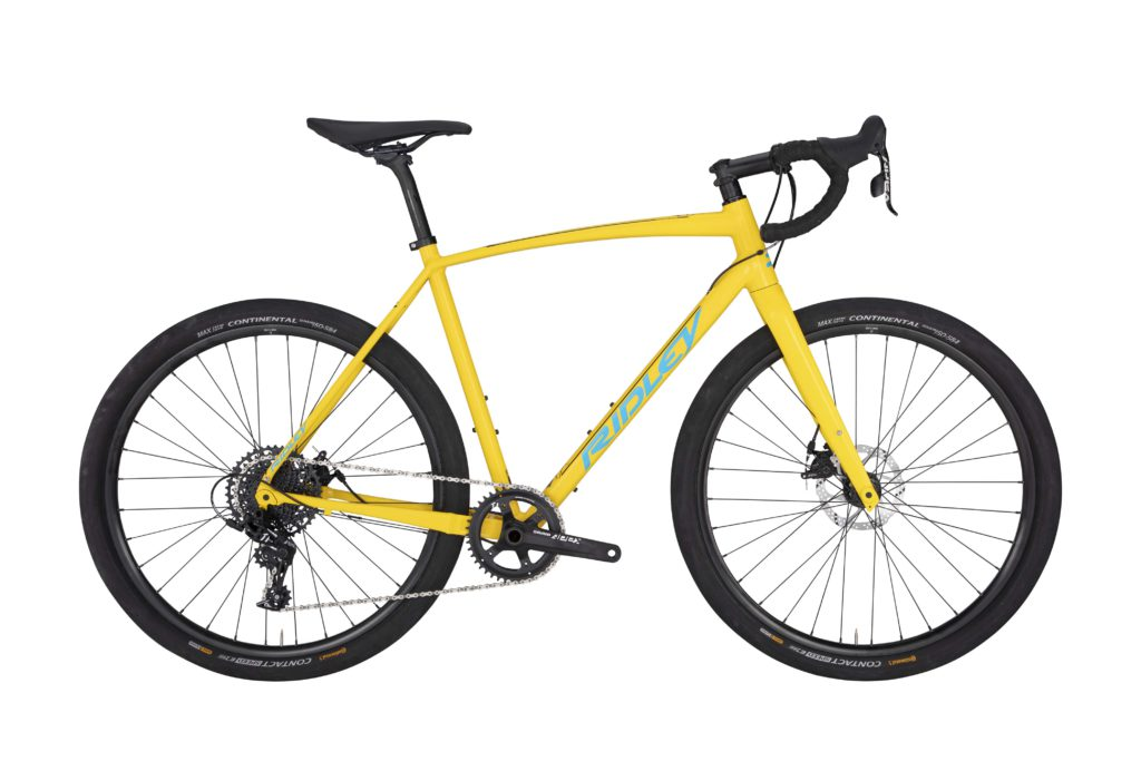 Ridley X Trail Alloy Medium Apex 650b All Road Bike Yellow 1 200 00